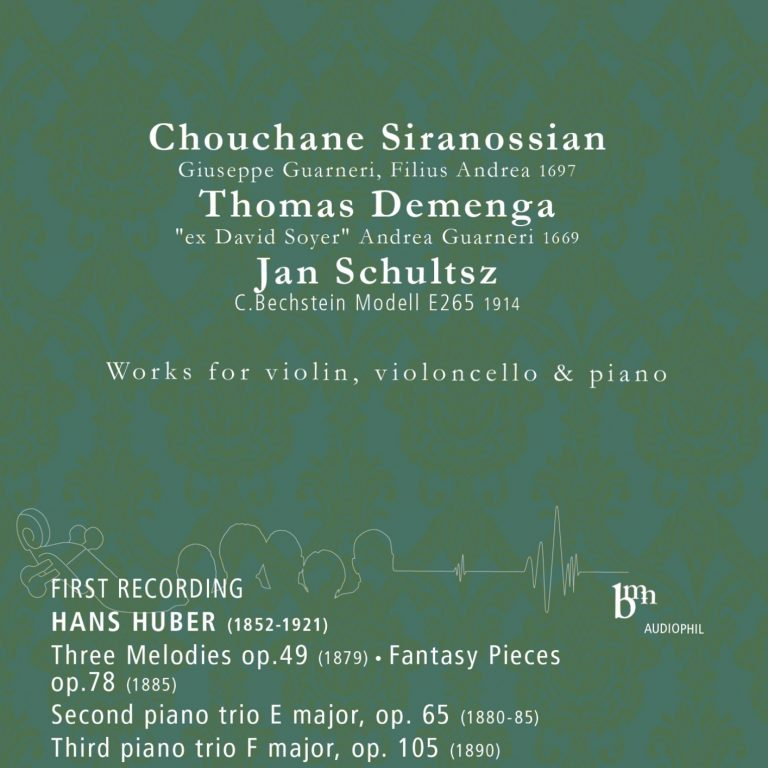 Hans Huber: Works for Violin, Violoncello and Piano