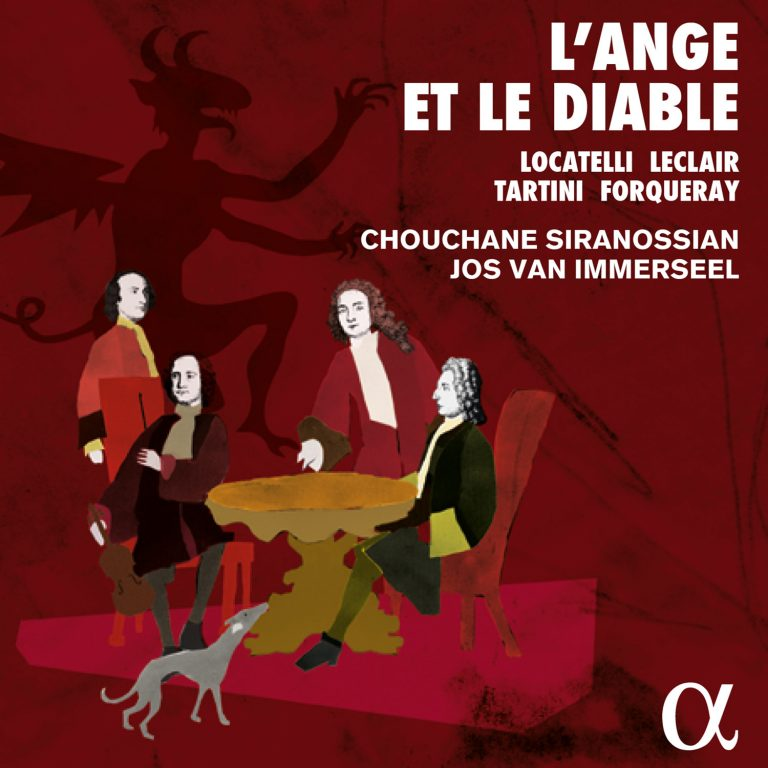 New CD release<br>L&#8217;Ange et le Diable