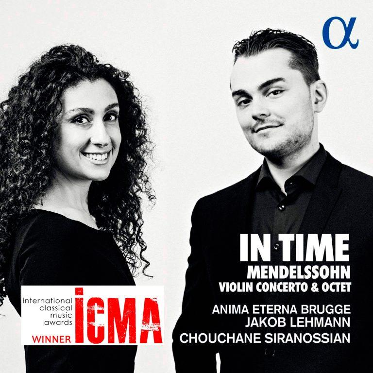 CD «In Time» reçoit le prix ICMA