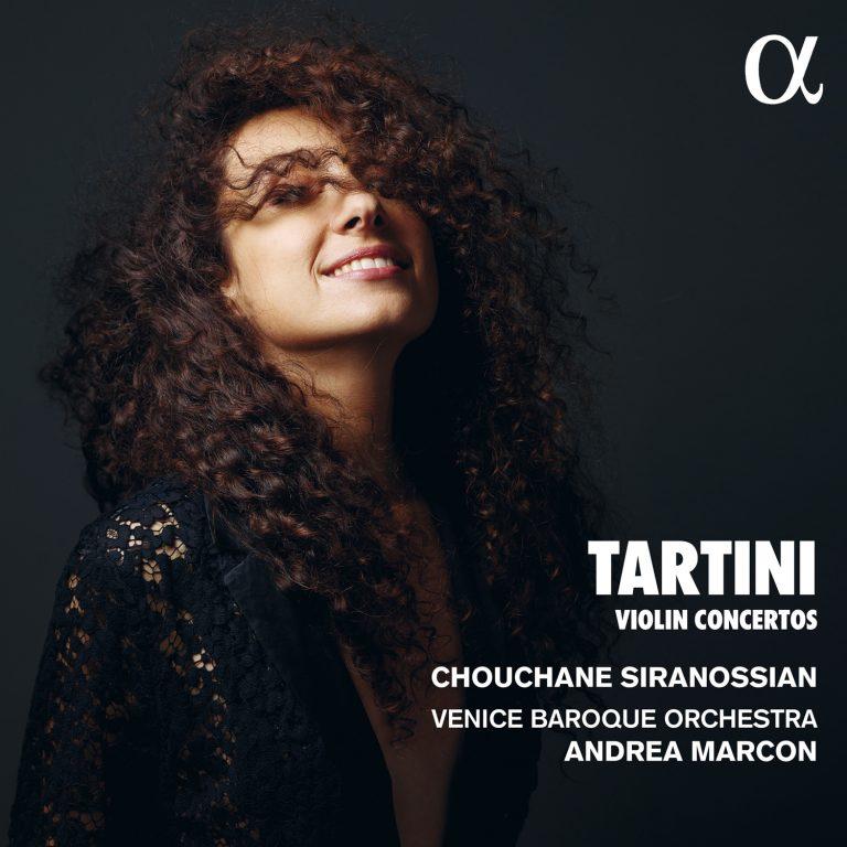 Nächste CD Veröffentlichung am 6. März! <br>Tartini: Violin Concertos